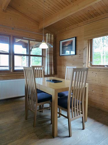 Bulrush dining room at Dacre Park, Brandesburton