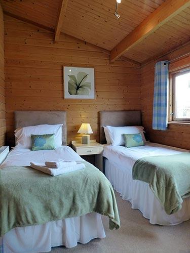 Bulrush Twin bedroom at Dacre Park, Brandesburton