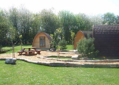 Camping Pods at Dacre Lakside Park, Brandesburton