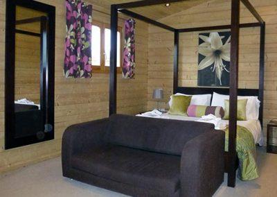 Dragonfly bedroom at Dacre Park, Brandesburton