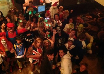 Halloween party in the clubhouse at Dacre Lakeside Park, Brandesburton