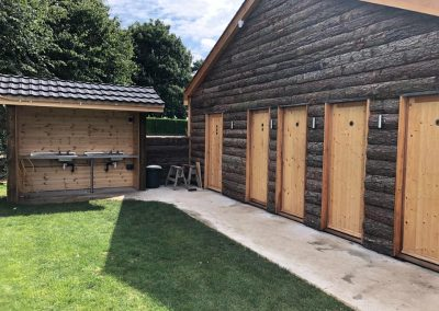 Camping facilities at Dacre Park near Beverley