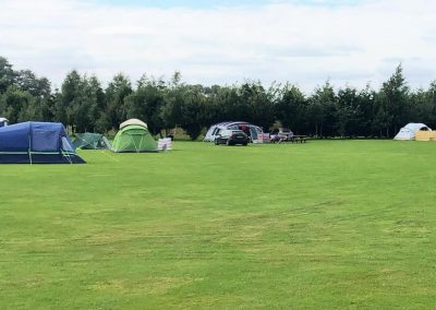 Campsite at Dacre Park, Brandesburton