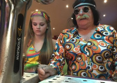 70s night at Dacre Park clubhouse