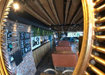Through the looking glass at Berts, Dacre Park, Brandesburton