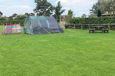 Camping at Dacre Park, Brandesburton