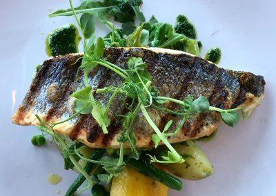 Fish dish at Berts, Dacre Park, Brandesburton