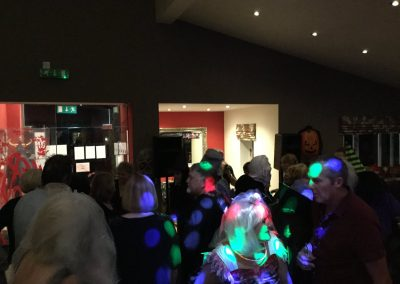 Halloween disco at Dacre Park clubhouse
