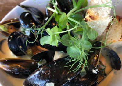 Mussels at Berts, Dacre Park, Brandesburton